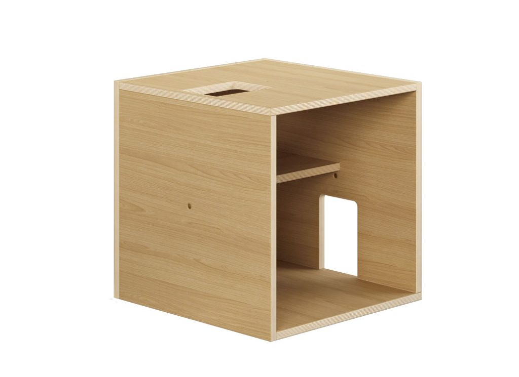 RISCA MODULE crafted from natural ash or oak veneer plywood