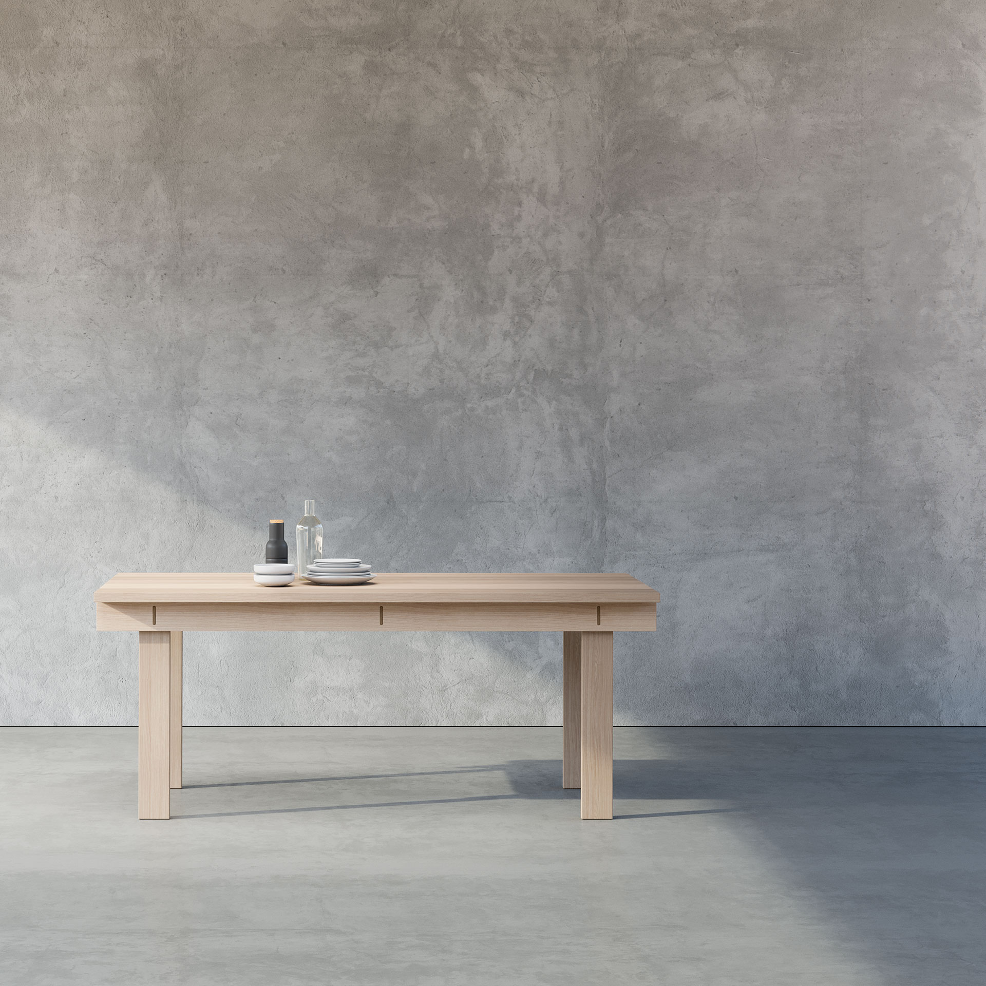 TABLE SERIES ROXO is made from durable and solid wood